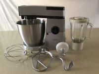Kenwood Mixer Major Electronic KM250. Little used with K beater, whisk, dough hook & liquidiser.