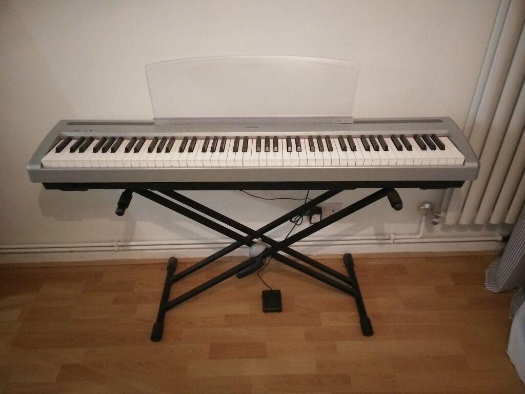 Yamaha P95 Digital Piano Stand Sustain Pedal Usb Midi