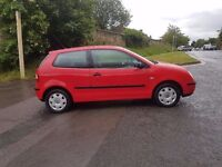2002 VOLKSWAGEN POLO 1.2 PETROL , 1 YEAR MOT , JUST SERVICE DONE