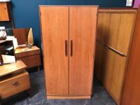 Fresco 2 Door Wardrobe By G Plan. Retro Vintage Mid Century