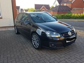 Black VW Golf 2.0 GT sport