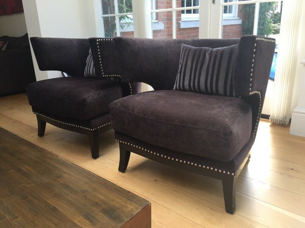 Stunning pair of bucket armchairs | in Hersham, Surrey ...