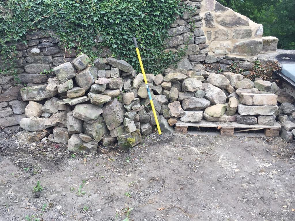 Stone for walling / garden projects