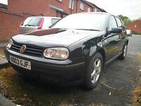 VW GOLF MK4 TDI 5DR BLACK.....