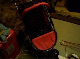 childs baby buggy
