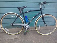 Mens / ladies hybrid bike , new tyres , all offers considered , got to go .