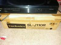 Technics sl j110r turntable