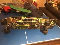 camouflage design 27 inch penny board