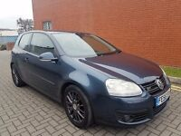 56-REG VW GOLF GT 2.0TDI 170BHP!!!SUPER FAST,6 SPEED GEARBOX,2 KEEPERS,2XKEYS,07479935615