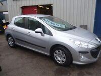 Peugeot 308 s,5 door hatchback,rare auto,FSH,in showroom condition,1 owner,2 keys,low mileage 39,000