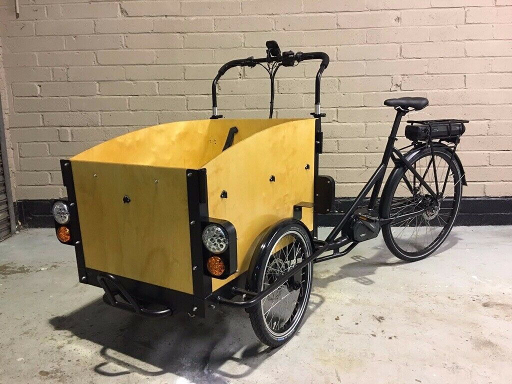 Electric Cargo Bike: BOXER SHUTTLE with mid drive motor, safety light kit,  & more | in Headington, Oxfordshire | Gumtree