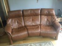 himolla leather sofa