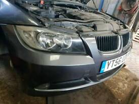 BMW E90 e91 front bumper complete with Grill and sports graphite Grey