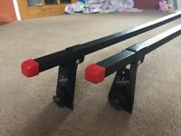Paddy Hopkins Roof Rack Bars for cars with a gutter