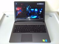 GAMING DELL 15,6 - INTEL CORE i7 5TH GEN - DEDICATED NVIDIA - 16GB - SSHD - WARRANTY - UK DELIVERY