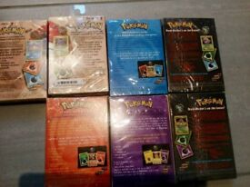 Rare Unopened pokemon theme decks