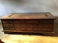 Laura Ashley Garrat coffee table with 12 drawers and storage