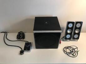 Logitech Z4 2.1 Speakers - PC, Phone etc