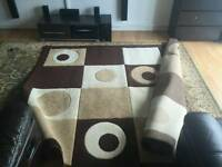 2 nice clean rugs good sizes