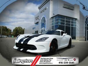 2014 Dodge Viper GTS **GTS**CANADIAN CAR**CLEAN CARPROOF**ADVANC