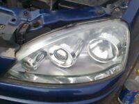 vauxhall corsa c projection headlight passengers side