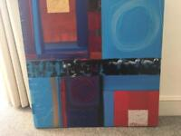 Jon Astrop, 2010 Large Original Abstract Painting (Multicolour)