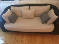 Rattan styles sofa