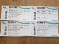 Harry Styles Live on Tour tickets. Sat 7th April 2018. Genting Arena, Birmingham