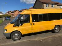 Minibus hire 8 seater and 17 seater
