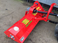 NEW ITALIAN SEMI OFFSET FLAIL MOWER FOR TRACTORS & COMPACT TRACTORS