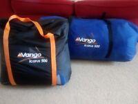 2011 Vango Icarus 500 Tent and Carpet