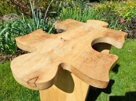 Side table, solid wood