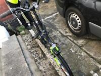B twin fold bike