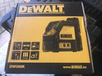 Dewalt dw088k laser level red beam