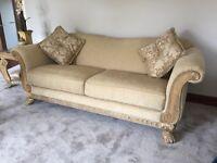 Beautiful large comfy sofa