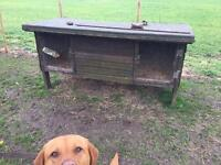 Extra large hutch