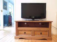 TV stand with drawers- Corona Pine