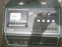 karaoke machine ,.. 2241 STEREO CD CASSETTE RECORDER