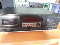 Aiwa double tape deck AD-W737