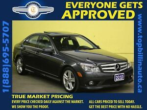 2010 Mercedes-Benz C-Class C300 4MATIC * Leather * Sunroof *