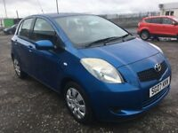2007 Toyota YARIS 1.3 Automatic , mot - March 2019 , only 34,000 miles ,service history ,jazz,corsa