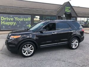 2013 Ford Explorer Limited / NAVIGATION / LEATHER / SUNROOF