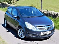 IMMACULATE! VAUXHALL CORSA DESIGN CDTI 5DR 1.2 ( 2007 ) DIESEL FULL SERVICE HISTORY