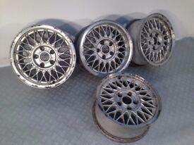 "BBS 15"" 7J 5x120 Deep dish, original alloy wheels, Classic wheels, not borbet, azev"