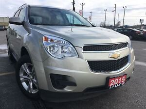 2015 Chevrolet Equinox 1LT, AWD, Bluetooth, Remote Start, Back-U