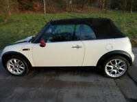 Mini Convertible, Showing Only 88000 Miles, MOT June 2018, No Advisories, Drives Superb