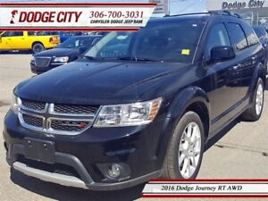 2016 Dodge Journey RT   AWD - Remote Start, Uconnect, Park Sense