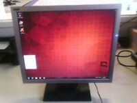 COMPUTER PC MONITOR MODEL DGM L-1721 FULL WORKING