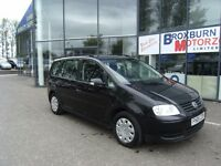 2005 05 VOLKSWAGEN TOURAN 1.9 S TDI 7 STR 5d 103 BHP FREE 12 MONTHS MOT **** GUARANTEED FINANCE ****