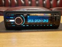 CAR HEAD UNIT SONY XPLOD DAB700U CD MP3 PLAYER WITH DAB USB AUX 4x 55 AMPLIFIER AMP STEREO RADIO